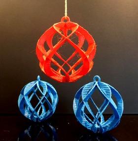 模术师应用:螺旋球挂件